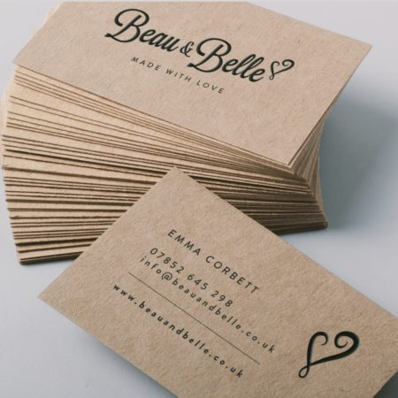 Craft Board Business Cards