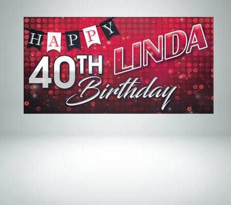 Birthday Banners (PVC)